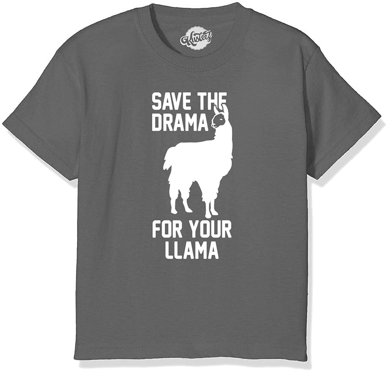 36c28b6d Amazon.com: Kusteez Youth LAMA FORTNITE T-Shirt Funny: Clothing