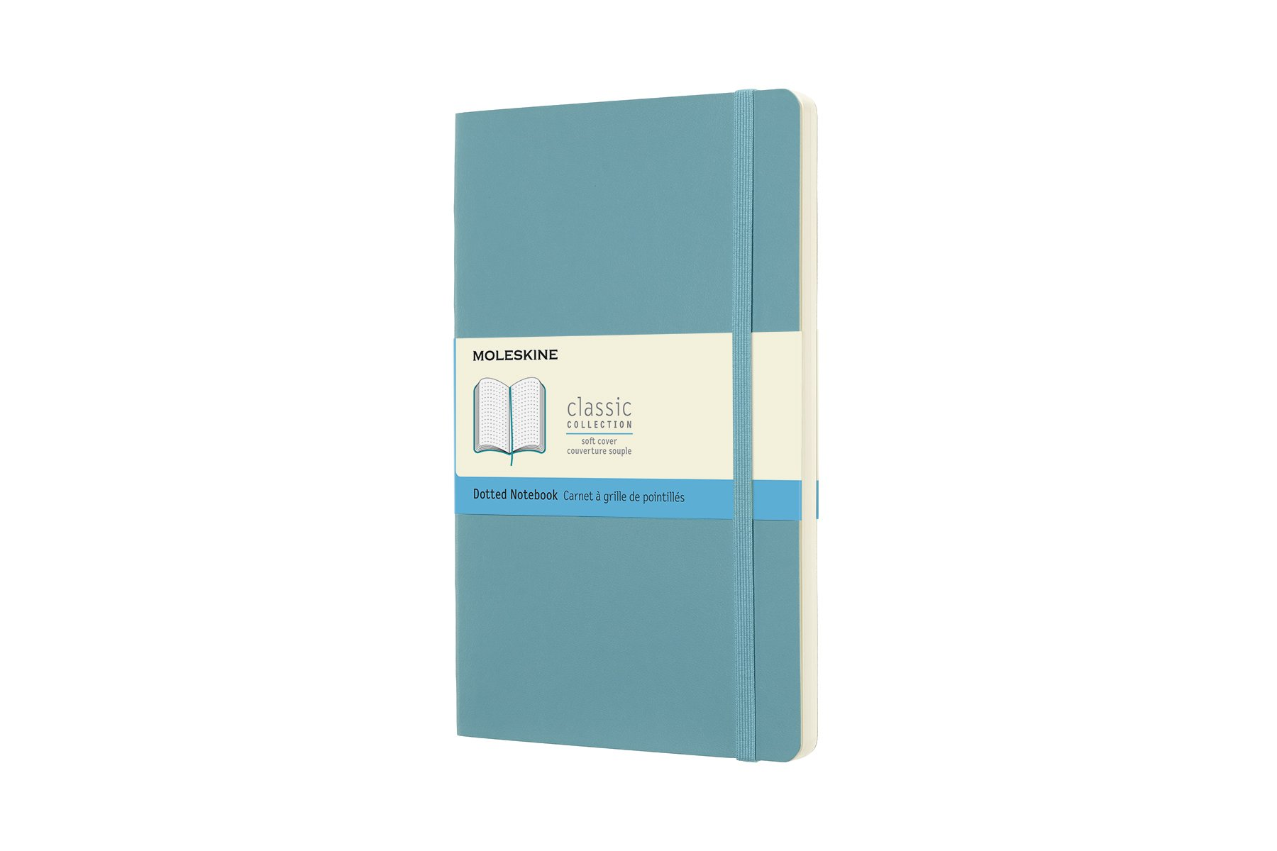 Moleskine Classic Soft Cover Notebook, Dotted, Large (5 x...