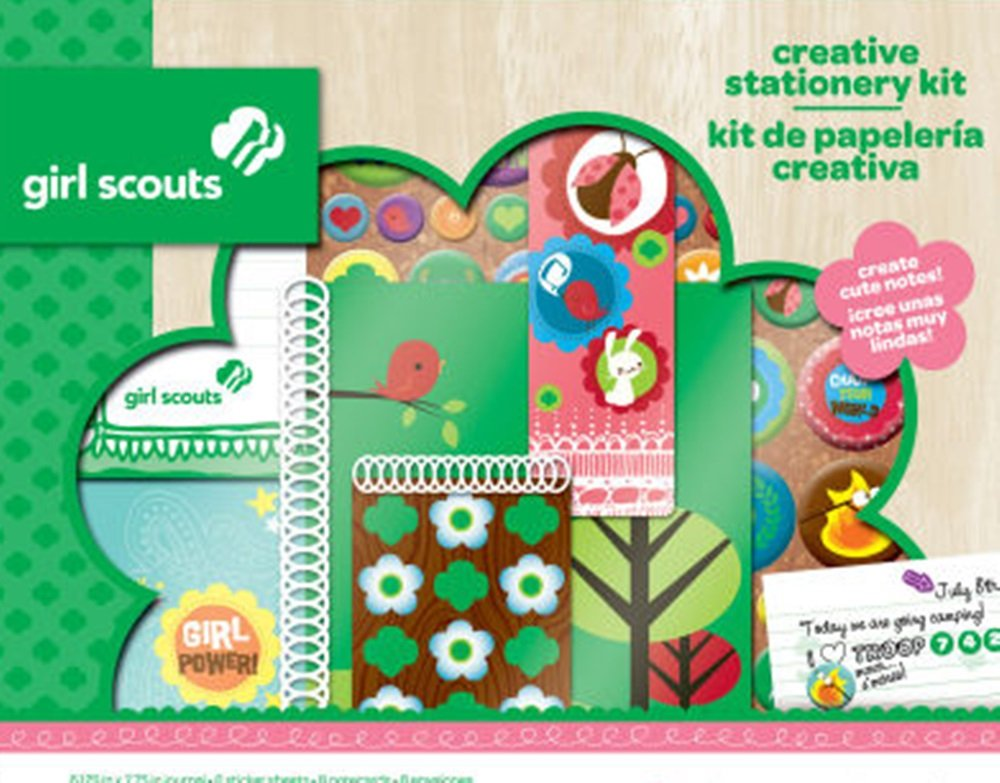 Girl Scouts Creative Stationery Kit Colorbok