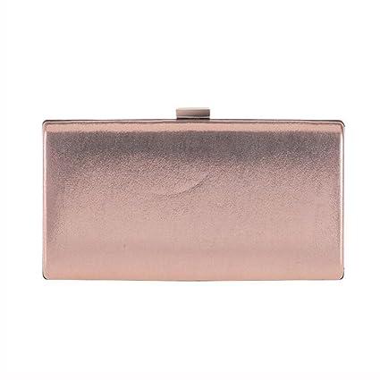 Liu Yu·casa creativa Paquete de Noche Bolso de Embrague Multifuncional Cadena Pequeño Bolso Cuadrado
