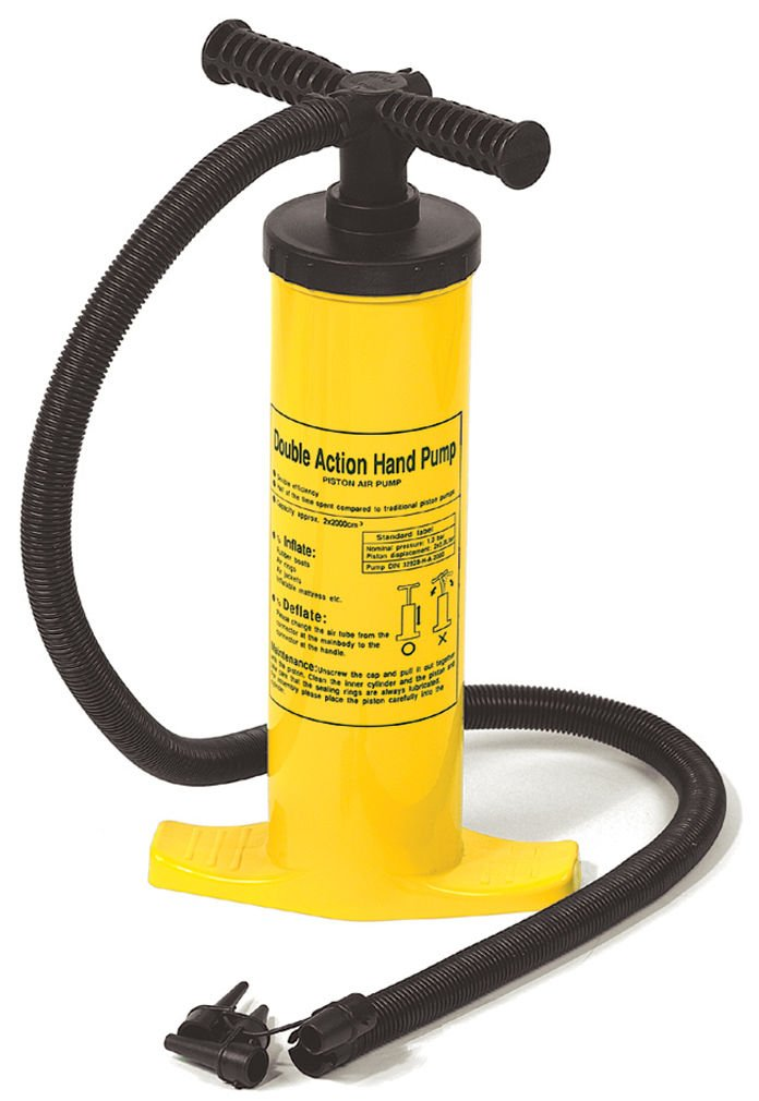 International Leisure PRODUCTS 9096 DUAL ACTION AIR PUMP