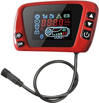 LCD Thermostat Display Switch W// Remote Controller 12//24V Für Diesel Air Heater
