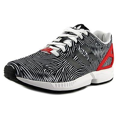 fa79f4632bba adidas ZX Flux Men s Shoes White Core Black Tomato b27457 (10 D(