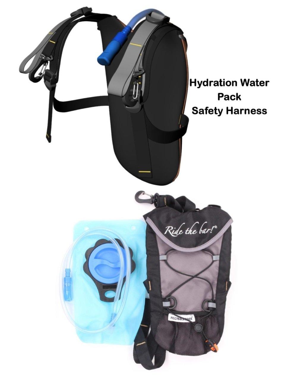 Piggyback Rider SCOUT Model - Standing Child Toddler Carrier Backpack for Hiking Trails, Camping, Fitness Travel (Orange)