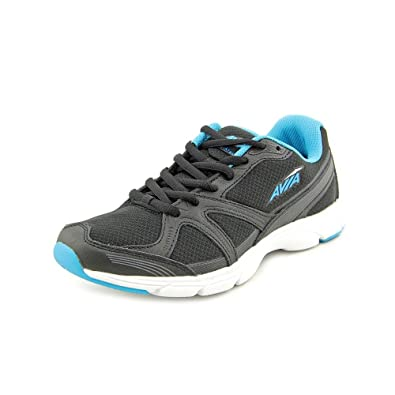 Avia Womens Avi-Stryde Ii Black / Young Turquoise / Steel Grey Ankle-High