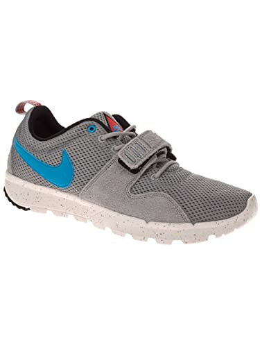 Amazon.com | NIKE SB Trainerendor Mens Fashion Shoes Base Grey/Sail Black  Vivid Blue 8 US Mens Base Grey/Sail Black Vivid Blue | Running