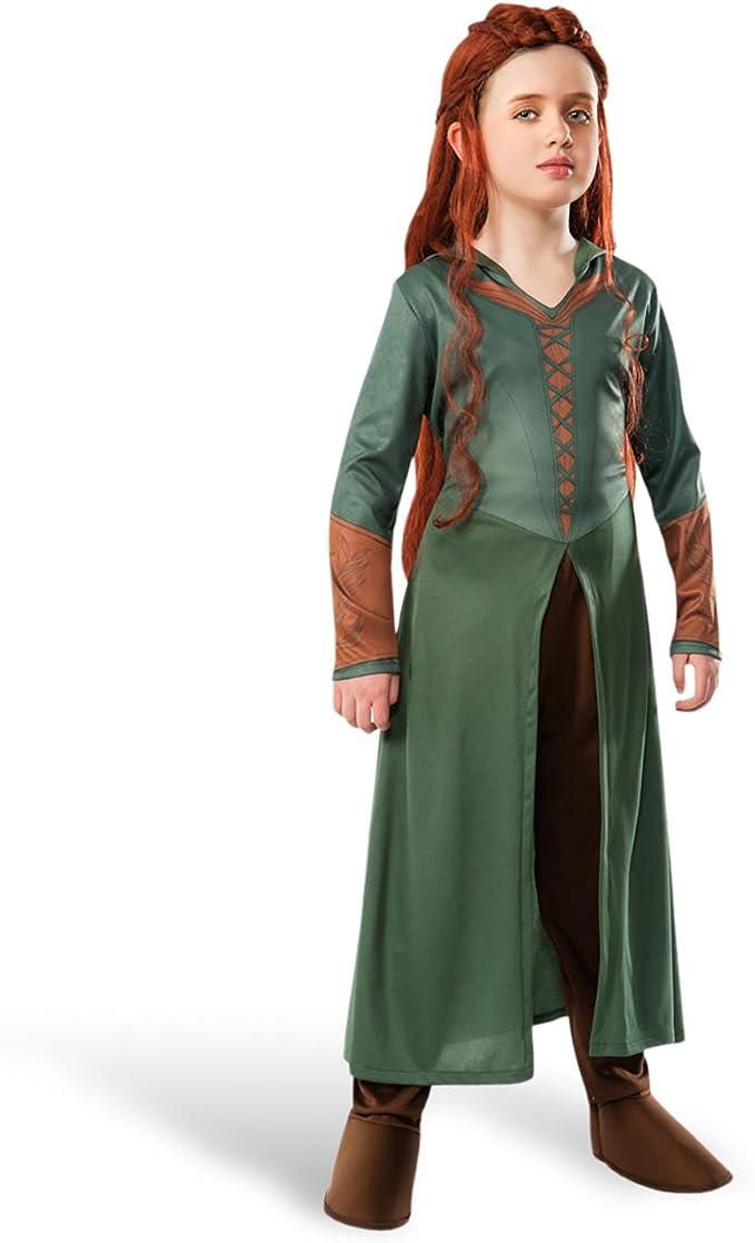 Disfraz de elfo Tauriel El Hobbit La Désolation Smaug de 2 piezas ...