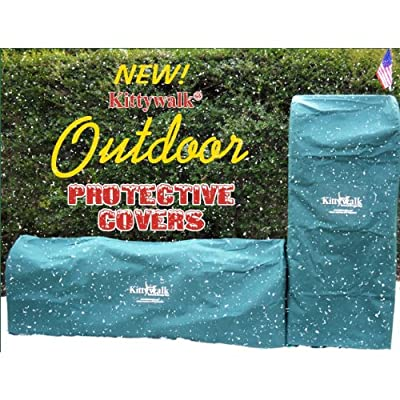 Outdoor Protective Cover For Single T-Connect Unit Green from Kittywalk