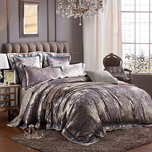 Jacquard Floral Comforter - 8