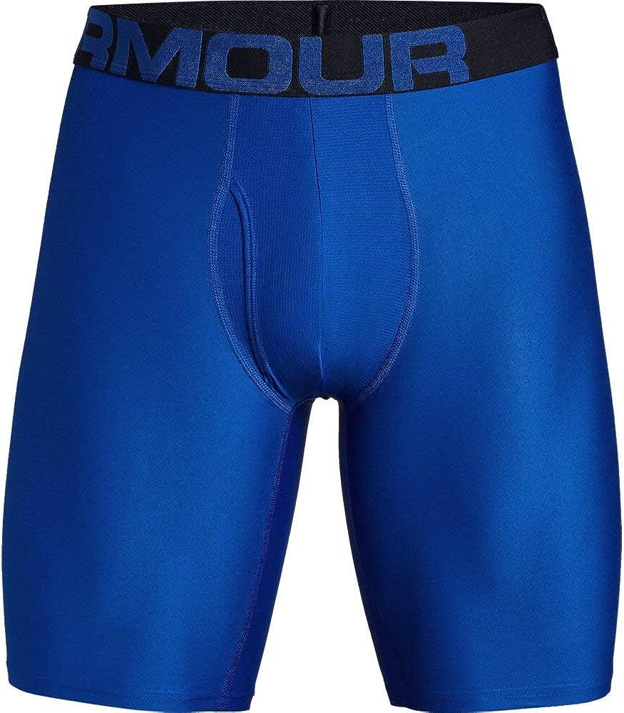 schnelltrocknende Boxershorts komfortable Unterw/äsche mit enganliegendem Schnitt 2er Pack Under Armour Herren Unterhosen Tech Boxerjock 23 cm