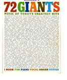 img - for Hansen's 72 Giants: The New Music of Today's Greatest Hits (Piano/Vocal/Organ/Guitar) book / textbook / text book