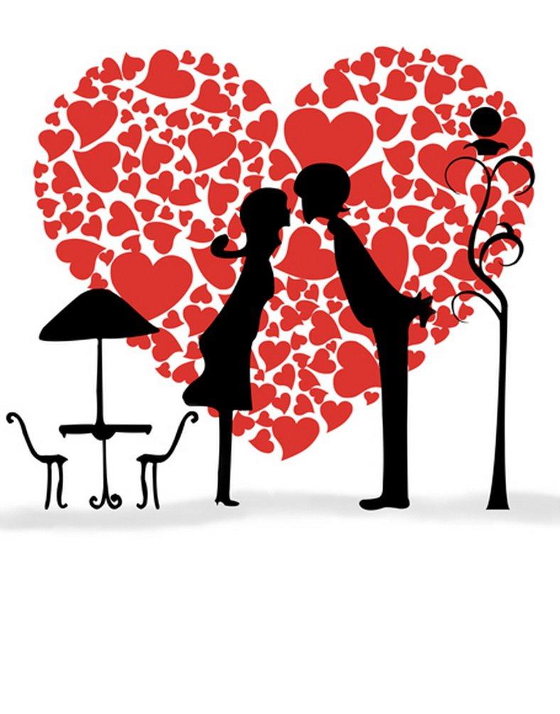 Lovers Love Heartレッド写真Backdrops写真小道具Studio背景5 x 7ft   B01HZUSGJE