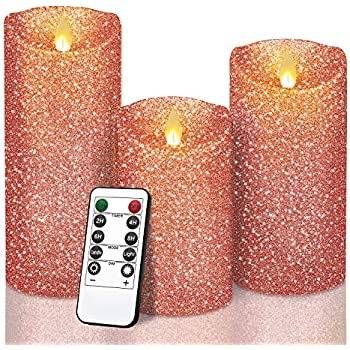 Y YUEGANG Flameless LED Candles, 5