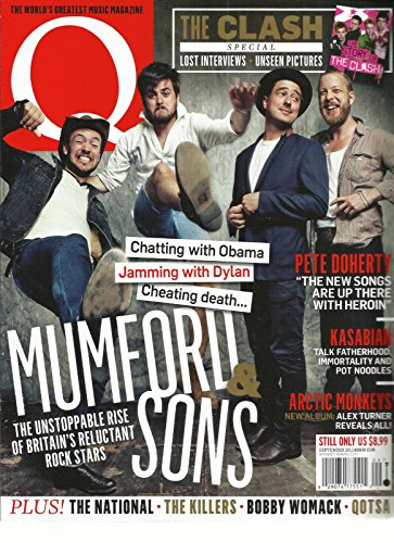 Q MAGAZINE, SEPTEMBER, 2013 (THE NATIONAL * THE KILLERS for sale  Delivered anywhere in USA