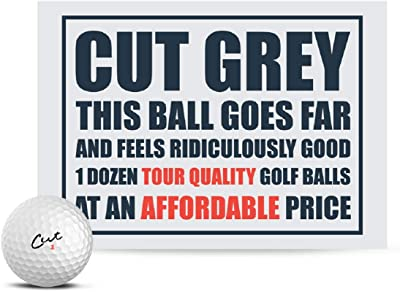 cut grey golf ball review