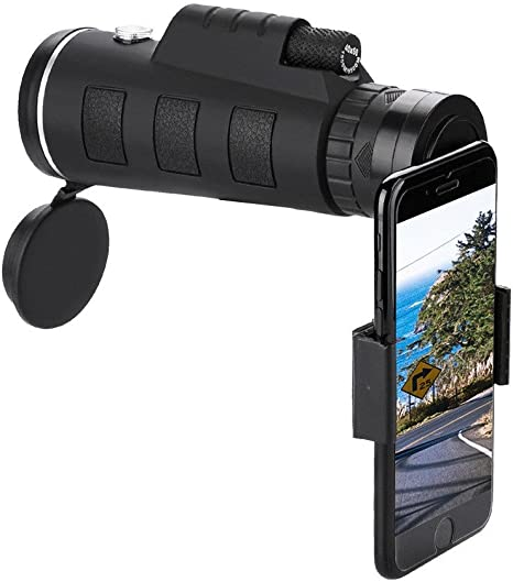 Telescopio Lente de C/ámara Clip de Zoom /óptico HD 40X60 para Tel/éfono Celular M/óvil