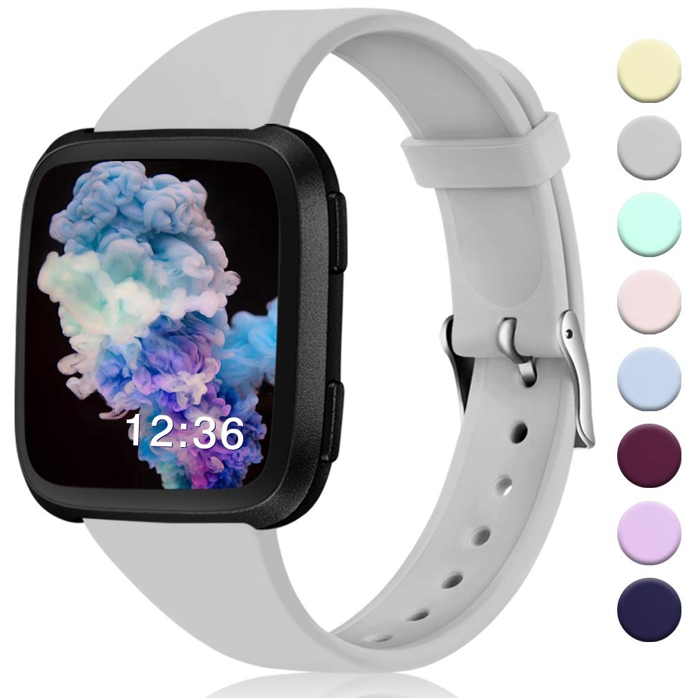 Malla Reloj Fitbit Versa/versa 2/se/lite Small Gris