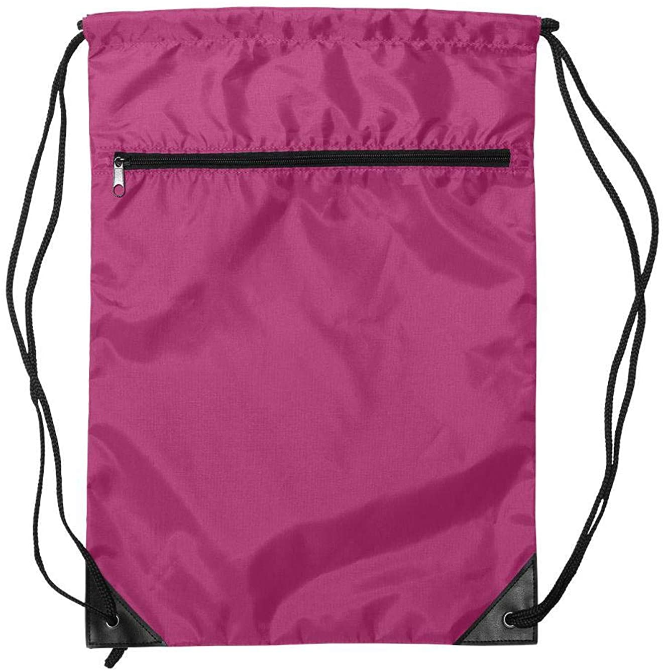 PINK /& BLACK DRAWSTRING BAG