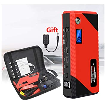 MSQL Cargador de batería para automóvil / 20000 mAh 12V ...
