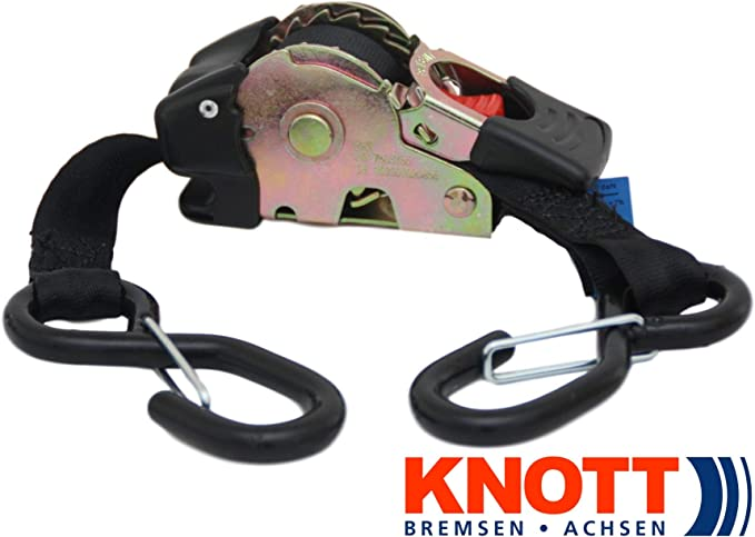 Knott Zurrfix Plus 500 Automatischer Spanngurt Zurrgurt 1 8m 25mm Lc 300 Dan Selbstaufrollend 1 Auto