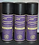 My Secret Hair Enhancer Silver/Gray 5oz (3 pack) Covers Hair Loss Area
