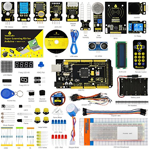Charming keyestudio Mega 2560 R3 Challenge Tremendous Starter Equipment for Arduino Studying Equipment with Tutorial, Finest Stem Training Software for Boys and Women  Evaluations