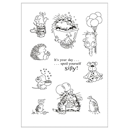 Inventive New Transparent Silicone Clear Rubber Stamp Scrapbooking Diy Cute Pattern Photo Album Paper Card Decor Bathing Girl Stamp Ebay Motors