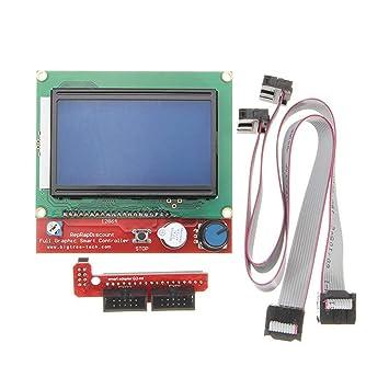 WEIWEITOE Controlador de Impresora 3D Inteligente LCD Digital ...