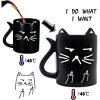 Onebttl Cat mug, Funny Mug with Quotes-Neko