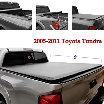 Toyota Tacoma 6 Roll Up Truck Bed Cover Heavy Duty Tonneau Cover