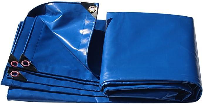 Lonas Lona Azul Lona para toldos Lona Solar Lona para sombrillas en Poncho Familia Jardín para Acampar al Aire Libre, Grosor 0.4 mm, 480 g / m2, 9 Opciones de Talla: Amazon.es: