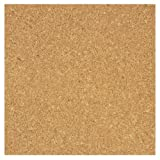 ": Board Dudes 12"" x 12"" Light Cork Tiles 4-Pack (70VA-4)"