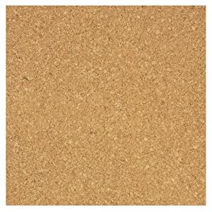 "Board Dudes 12"" x 12"" Light Cork Tiles 4-Pack (70VA-4)"