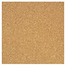Board Dudes 12-Inch X 12-Inch Light Cork Tiles, 4-Pack (70VA-4)