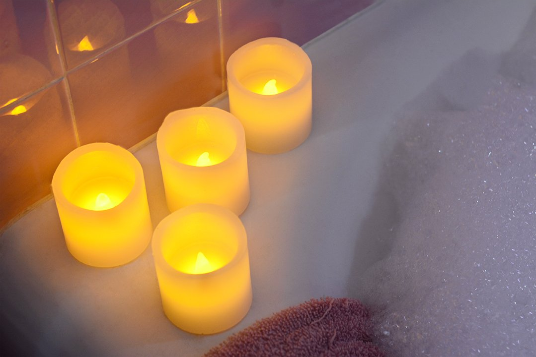 Flameless Candles - $9.99 (Reg...