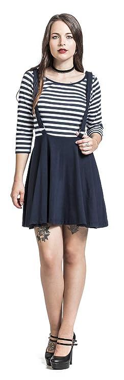 Rockabella Kadia Dress Kleid blau weiß XL  Amazon.de  Bekleidung e19cb68181