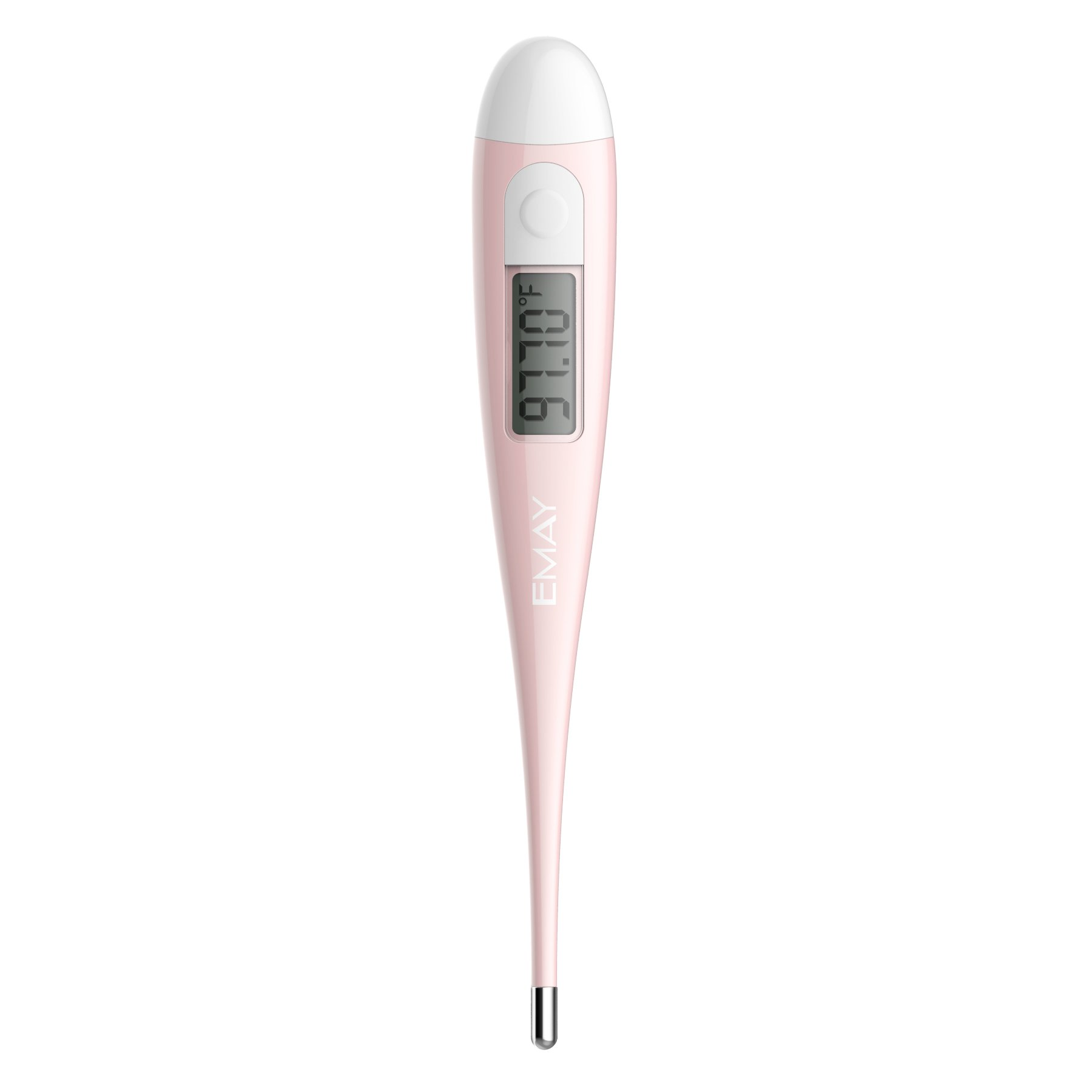 Basal Thermometer by Emay, Clinical BBT Accurate 1/100th Degree, Basal Body Temperature Thermometer for Natural Family Planning (No Backlight) by Emay (Image #2)