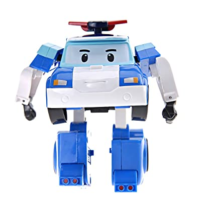 Robocar Poli Transforming Robot Toy: Toys & Games