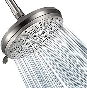 Amazon Giveaway GICEEPO Rainfall Shower Head with Spray...