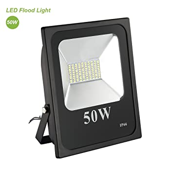 Amazon 50w 5000k daylight white trylight waterproof 50w 5000k daylight white trylight waterproof outdoor led flood lights security mozeypictures Image collections
