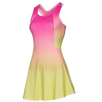 0f90df41fe99 BIDI Badu 3-in-1 Avril Women's Tennis Dress pink/yellow, pink/yellow ...