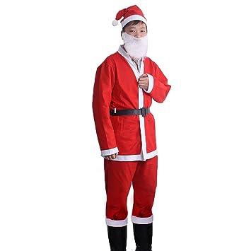 OULII Disfraz de Papá Noel para Hombre: Amazon.es: Juguetes ...