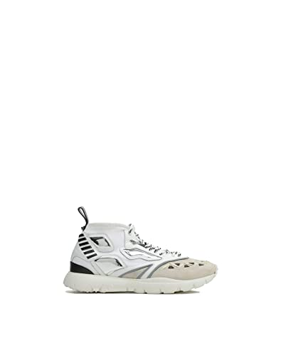 59f85201a6cdd Image Unavailable. Image not available for. Color: Valentino Garavani Men's  Py0s0a71squ0ni White Polyamide Sneakers