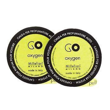 Millefiori Milano 13rgox Oxygen Capsules Refill For Car Air