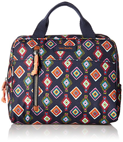 Vera Bradley Lighten Up Printed Lunch Cooler, Mini Medallions