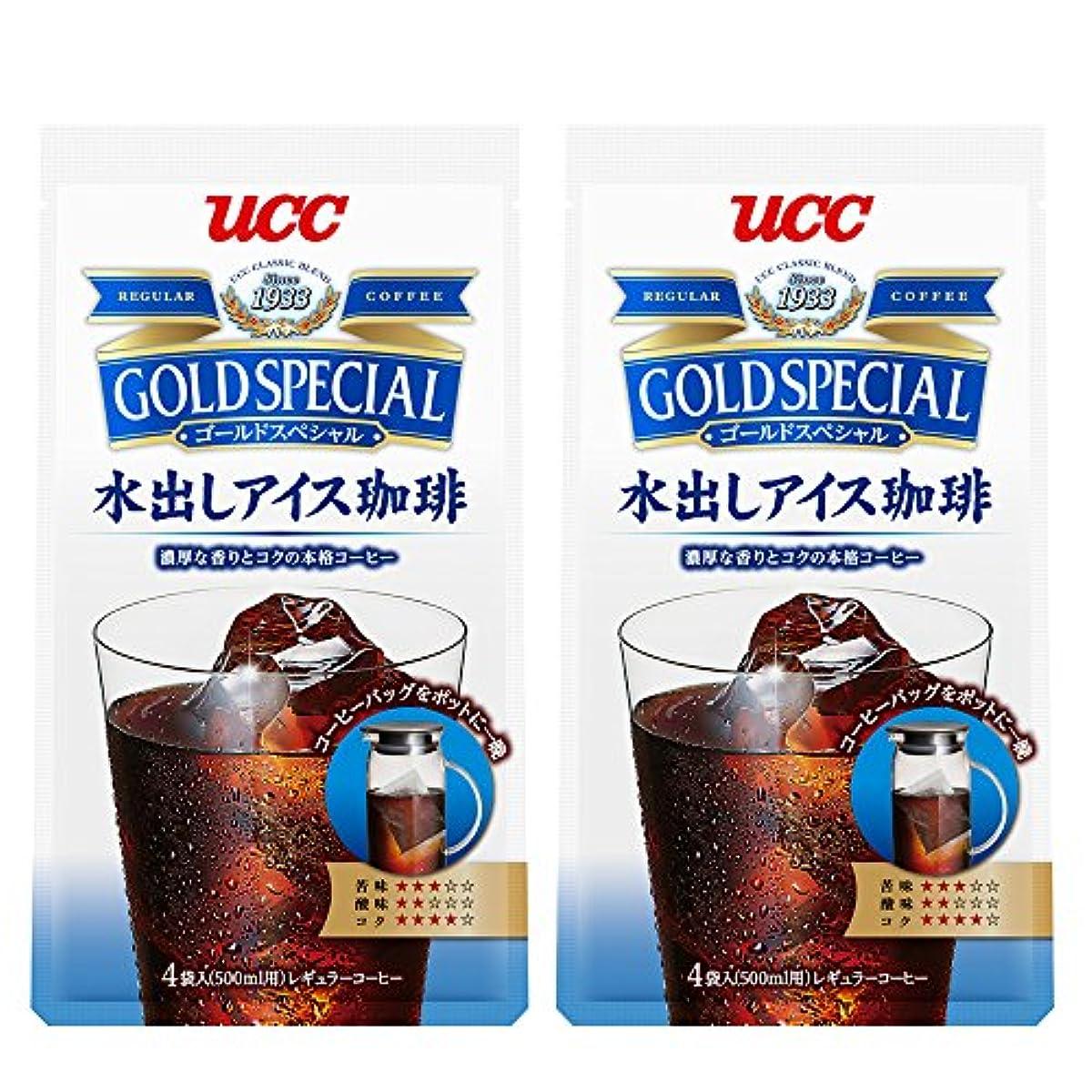[해외] UCC 골드스페셜 아이스 커피 커피팩 (4개입x2봉지)