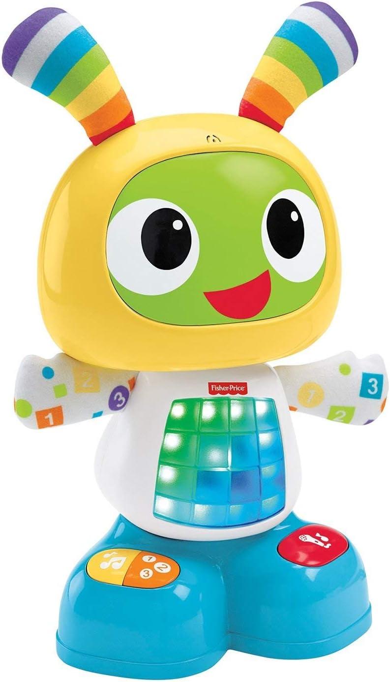 Fisher-Price Robi Robot de aprendizaje bebé-juguetes educativos, 37.1 x 34.0 x 15.0 (Mattel CGV50)