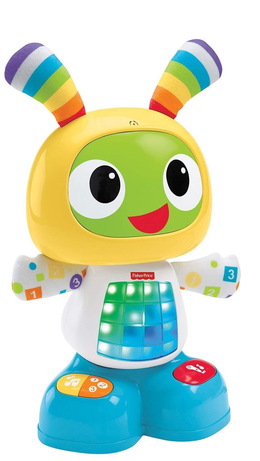 Fisher-Price Robot Robi, juguete de aprendizaje bebé +9 meses (Mattel CGV50