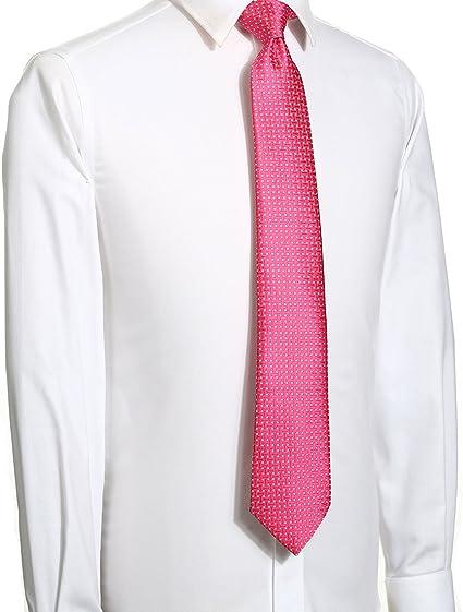 Corbata de cuadros formal para trajes de negocios, color gris, por KissTies