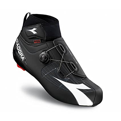 Diadora Mens Polarex Plus Winter Road Biking Shoe - 170229 (Black/White - 41